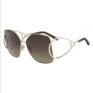 Chloe CE135S Gold Sunglasses